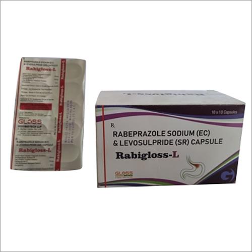 Rabigloss-L Rabeprazole Sodium(EC) & Levosulpiride(SR) Capsules
