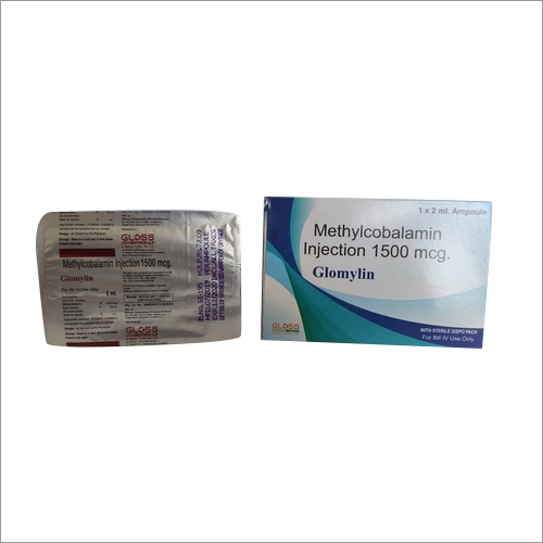 Glomylin Methylcobalamin Injection 1500mcg