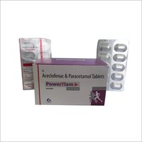 Powerflam Aceclofenac & Paracetamol Tablets