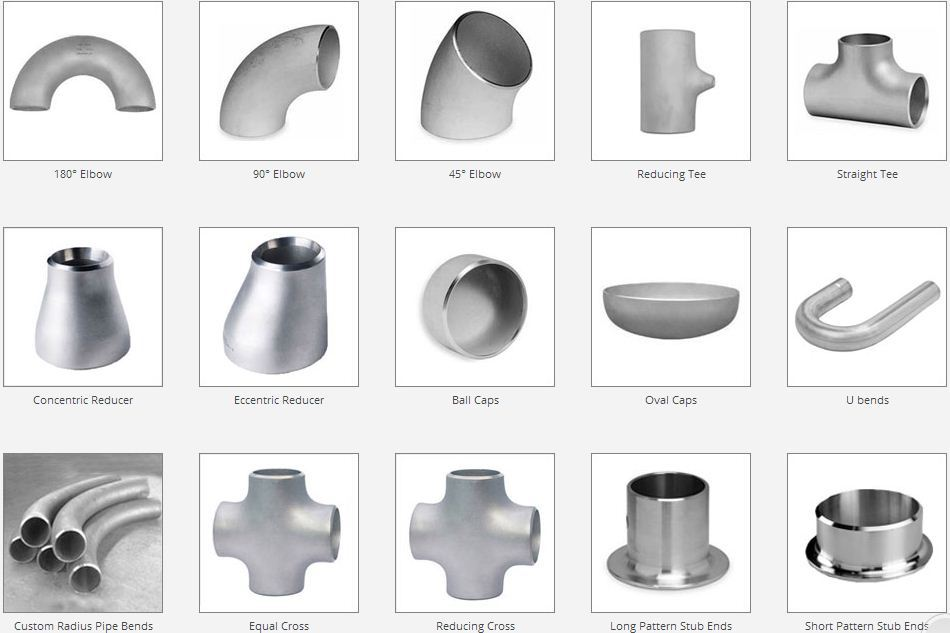 Ss Buttweld Fittings