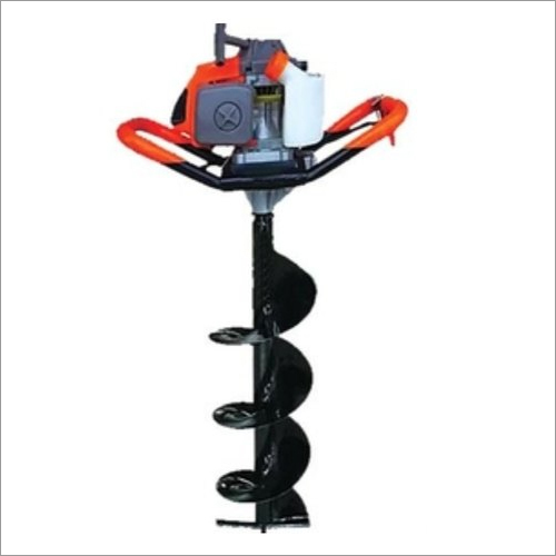 Heavy Duty Earth Auger 52CC Engine With 4 Inch Drill