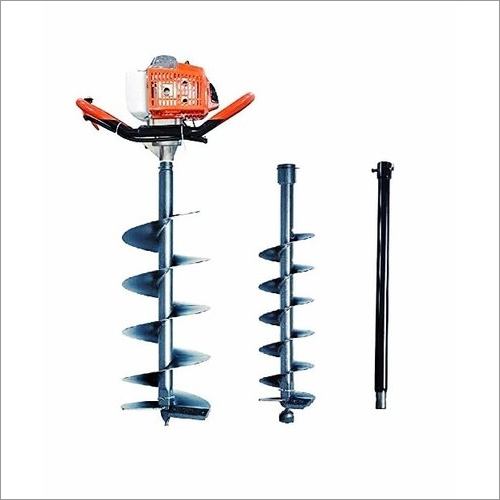Earth Auger 52 CC Engine 4 Inch and 8 Inch Plus Extension Rod