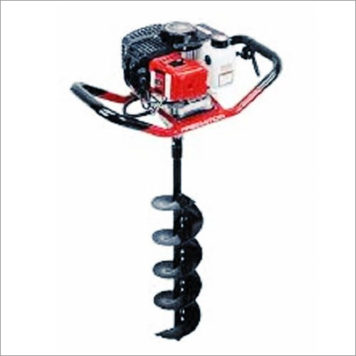 Drill Hole Earth Auger 63CC Engine With 4 Inch Drill