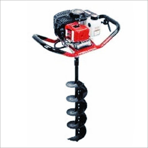 Drill Hole Earth Auger 63CC Engine With 6 Inch Drill