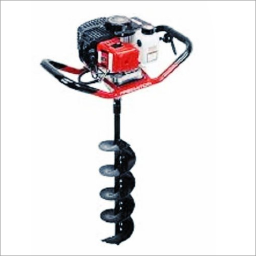 Drill Hole Earth Auger 63CC Engine With 8 Inch Drill