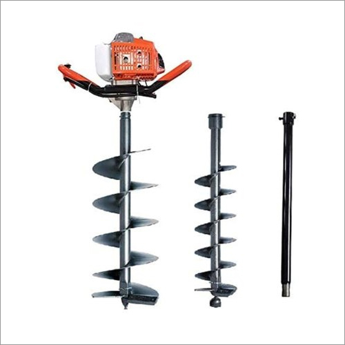 Earth Auger 63CC Engine With 4 Inch 8 Inch & Extension Rod