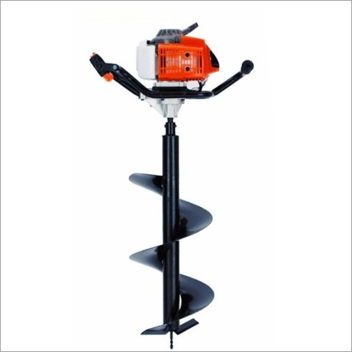 Drill Hole Earth Auger 52CC Engine With 8 Inch Drill