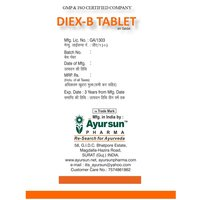 Ayurvedic Herbal Medicine Diex-b Tablet