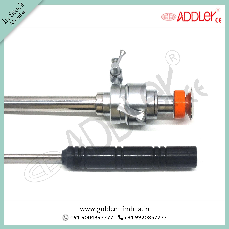 Brand New ADDLER Laparoscopic 10mm Trocar with 5mm Knot PusherBrand New Addler Laparoscopic 10mm Trocar With 5mm Knot Pusher