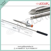Brand New ADDLER Laparoscopic 10mm Trocar with 5mm Knot PusherBrand New Addler Laparoscopic 10mm Trocar With 5mm Knot Pusher