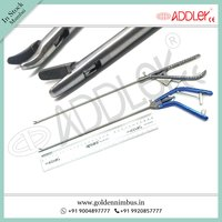 Brand New Addler Laparoscopic 5mm Needle Holder Storz Type Straight And Ethicon Type Curved