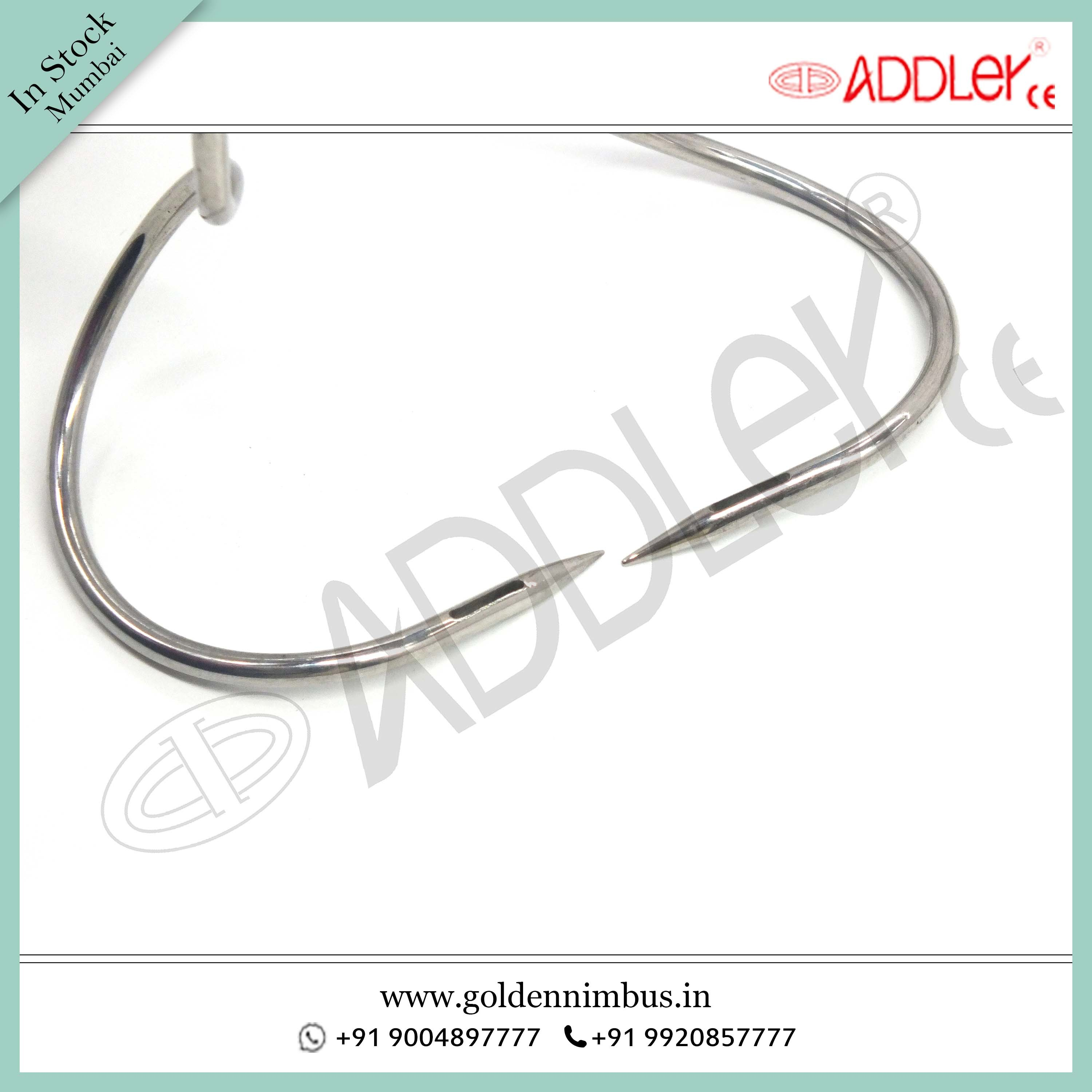 Brand New ADDLER Laparoscopic Mochi Needle Left and Right HandBrand New Addler Laparoscopic Mochi Needle Left And Right Hand