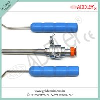 Brand New Addler Laparoscopic Mochi Needle Left And Right Hand With 10mm Trocar