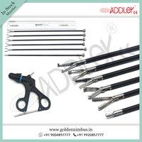Brand New Addler Laparoscopic Grasper Set Of 6 With Handle