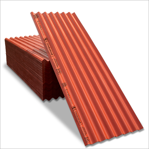 Coloured Fibre Cement Roofing Sheets