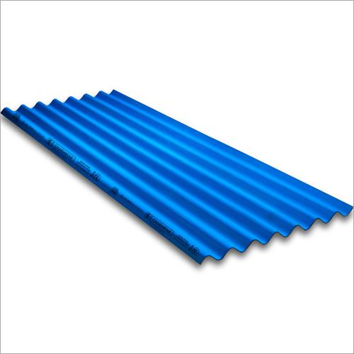 Coloured Fibre Cement Roofing Sheets-Blue