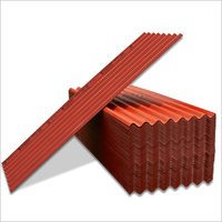 Coloured Fibre Cement Roofing Sheets- Red