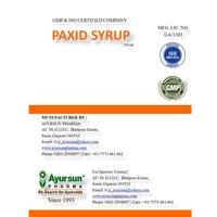 Ayurvedic Medicine Paxid Herbal Syrup