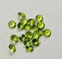 8mm Peridot Faceted Round Loose Gemstones