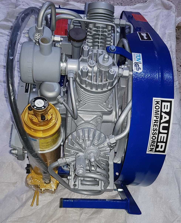 Bauer Capitano Model Breathing Air Compressor