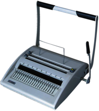Spico Spiral Binding Machine ST 800 A4