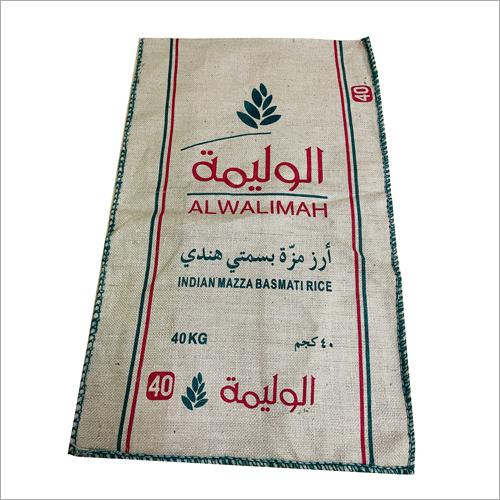 40 kg Jute Rice Bag