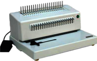 Electric Comb Binding CB-315E A4