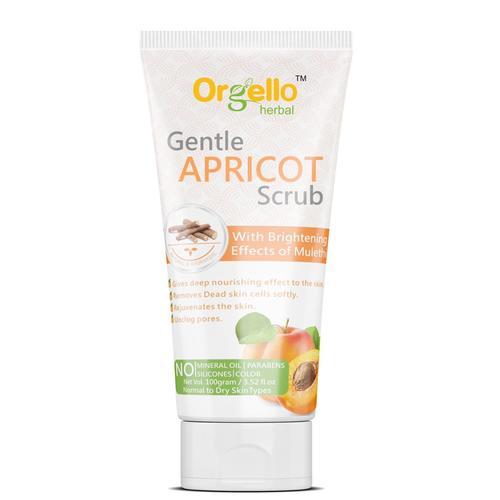 Orgello Herbal Gentle Apricot Scrub