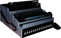 Electric Comb/ Wiro Binder 2 In 1 (WR-8808)