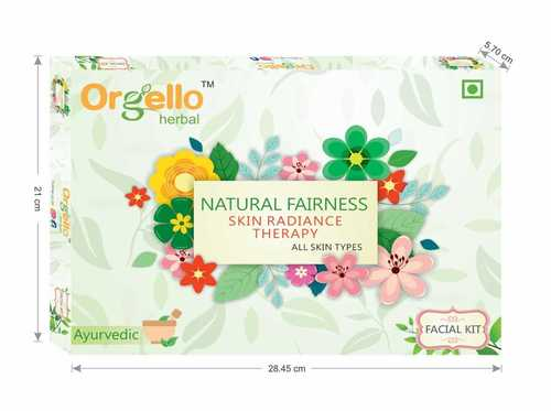 Orgello Herbal Natual Fairness Facial Kit