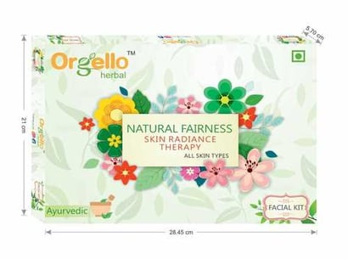 Orgello Herbal Natual Fairness Facial Kit