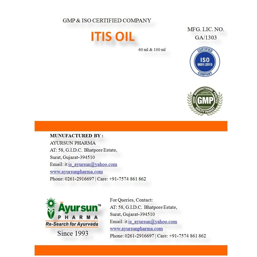 ITIS Oil (Anti Inflammatory)