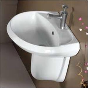 W.B. Half Pedestal Wash Basins