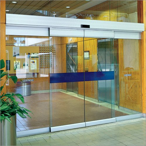 Automated Glass Door