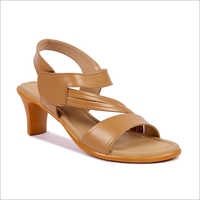 Womens Tan Leather Casual Sandals