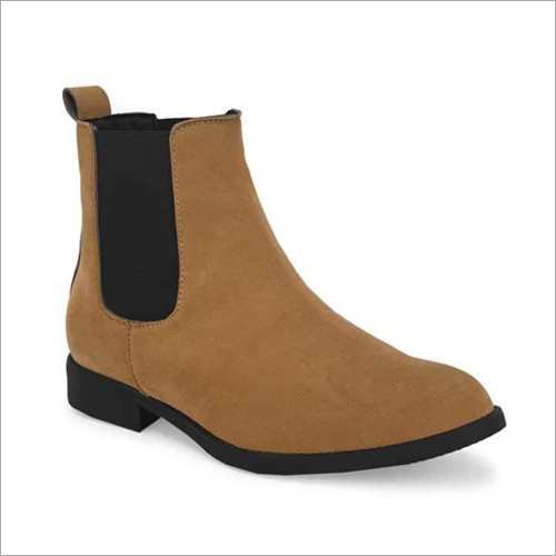 Mens Brown Suede Leather Shoes