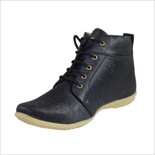 Mens Black Synthetic Foam Casual Shoes