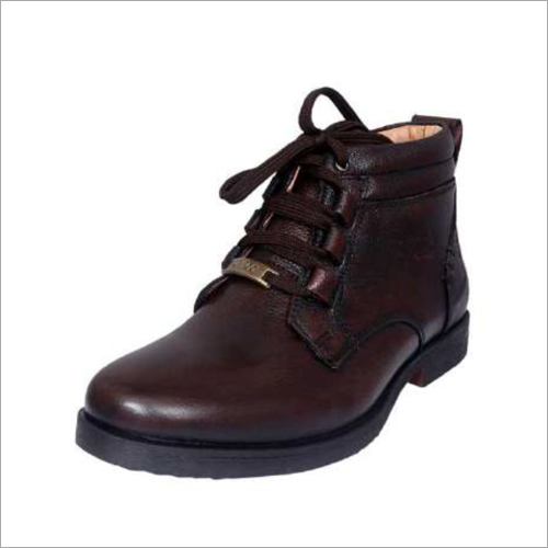 Mens Brown DD Leather Boots
