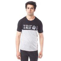 Trifoi Printed Round Neck T-Shirt