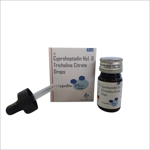 Cypolin Plus Cyproheptadine + Tricholine Citrate Drops