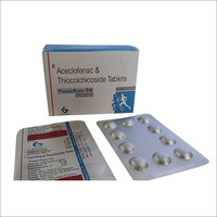 Powerflam TH-Aceclofenac + Thiocolchicoside Tablets