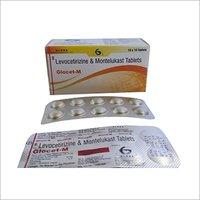 Glocet M -Levocetirizine + Montelukast Tablets