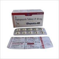 Glopenta 40 Pantoprazole Tablets I.P. 40mg tablets