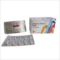 Gloxime OF- Cefixime + Ofloxacin tablets