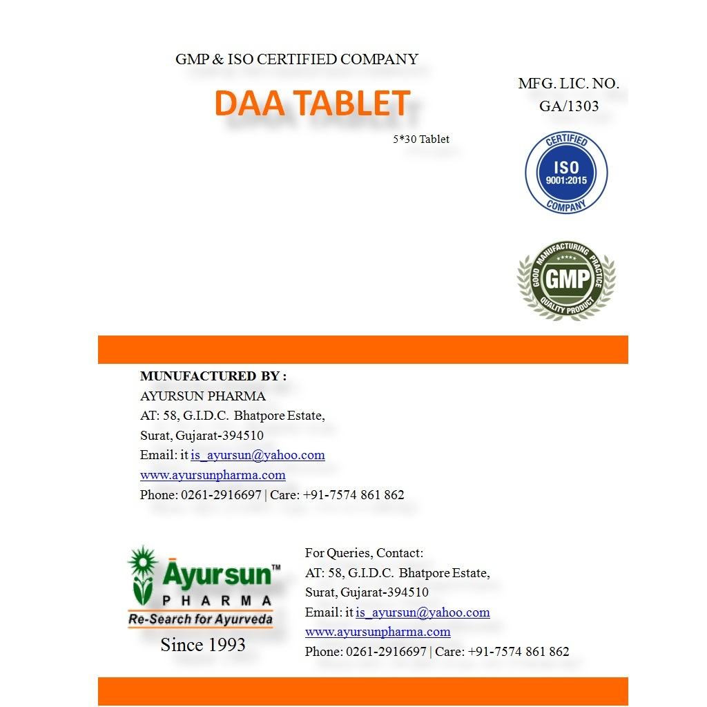 Daa Tablet (Anti-allergic)