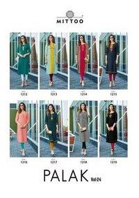 Palak Vol 24 Designer Branded Heavy Rayon Kurtis