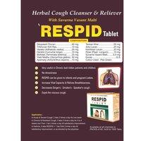 Ayurvedic Herbal Medicine For Respiratory - Respid Tablet