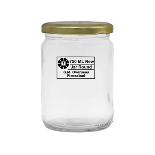 720ml 1Kg Honey Round Glass Jar