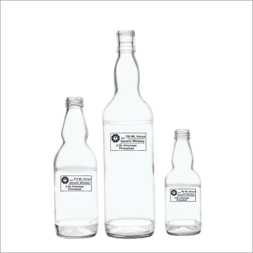 Country Empty Glass Bottles
