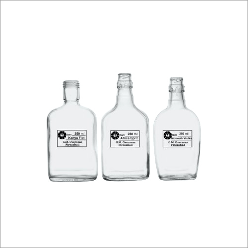 250 Ml Kenya Glass Bottles